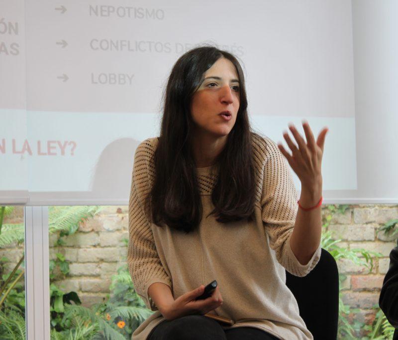 Michelle Volpin. Fundación Directorio Legislativo. Argentina