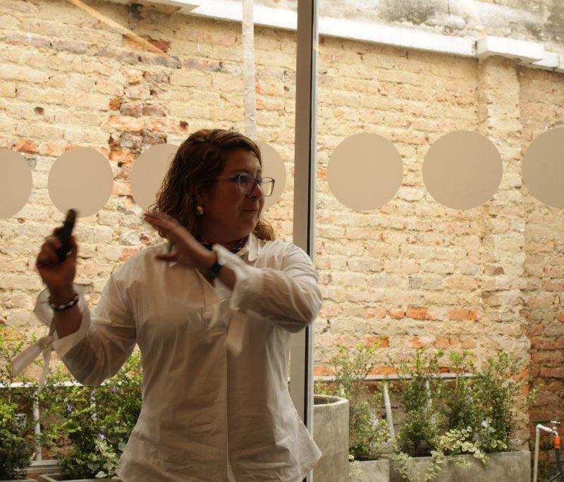 Mónica Oyuela. Transparencia por Colombia